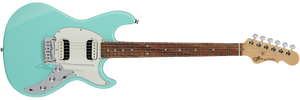 G&L FULLERTON DELUXE SKYHAWK HH Electric Guitar in Surf Green