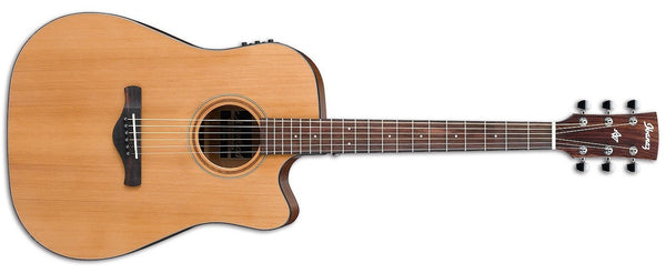IBANEZ AW65ECE-LG ARTWOD JUNIOR ACOUSTIC GUITAR - LOW GLOSS - The Guitar World