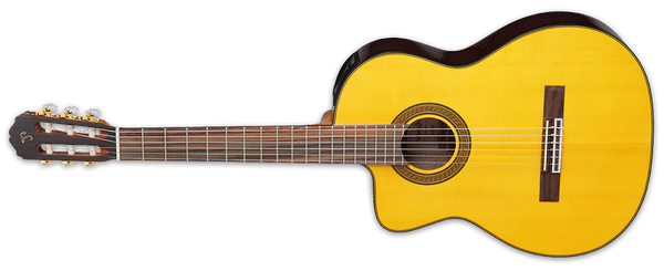 Takamine Classical Cutaway Left Handed in Natural GC5CELH-NAT