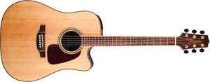 Takamine Dreadnought Cutaway Acoustic-Electric Guitar in Natural Item ID: GD93CE-NAT