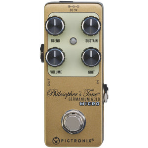 Pigtronix Germanium Gold CompressorMicro GGM - The Guitar World