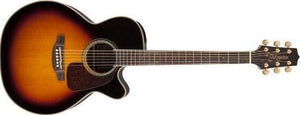 Takamine Nex Cutaway Acoustic-Electric Guitar in Sunburst Item ID GN71CE-BSB - The Guitar World