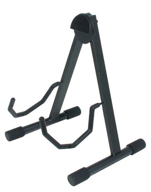 "Quik Lok QuikLok Low ""A"" Frame Universal Acoustic Electric Guitar Stand GS438 - The Guitar World"