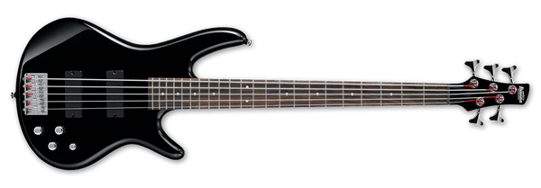 Ibanez GSR205 5-String Bass IN Black GSR205 BK - The Guitar World