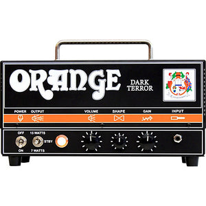 Orange Dark Terror 4 Stage 15 Watt Amplifier Head - The Guitar World