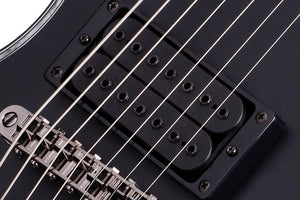 Hellraiser E-7 Passive in Satin Black BLK SKU 3072 - The Guitar World
