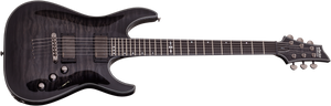 Schecter Hellraiser Hybrid C-1 in Trans Black Burst TBB - TGWX SKU 1922 - The Guitar World