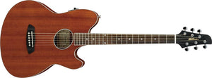 Ibanez TCY12E-OPN Talman Series 6 String Electric Acoustic Guitar in Open Pore Natural