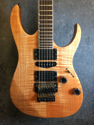 IBANEZ USA CUSTOM - 1991 - FLAME MAPLE TOP - TGWX - The Guitar World