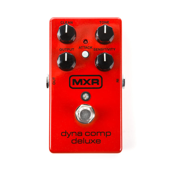 Dunlop MXR Dyna Comp Deluxe Compressor Guitar Effect Pedal - Red JD-M228 - The Guitar World