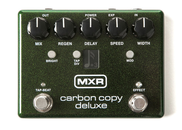Dunlop Mxr Carbon Copy Deluxe Analog Delay Pedal JD-M292 - The Guitar World
