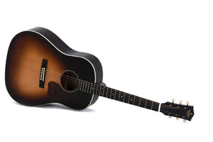 Sigma Guitars Jumbo Acoustic Electric Guitar in Gloss Sunburst