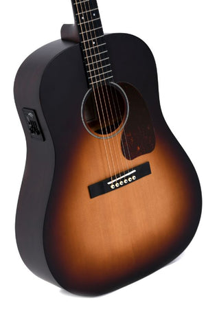 Sigma Guitars Electric Acoustic Guitar, Sunburst
