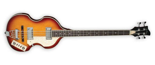 Jay Turser Vintage Sunburst Viola Style 4-String Bass Guitar JTB-2B-VS - The Guitar World