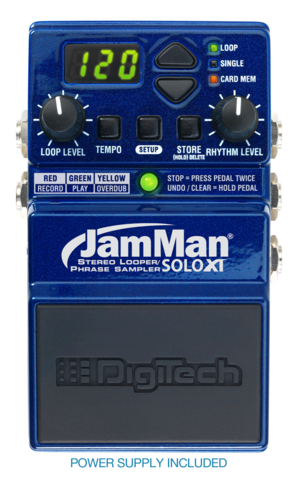 Digitech JamMan Solo XT Stereo Looping in a Compact Pedal with JamSync - The Guitar World