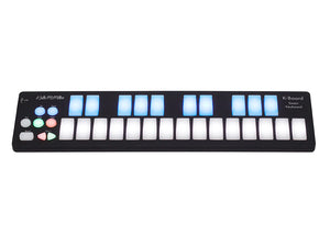 Keith McMillen Instruments 25-key LED Backlit USB MIDI Keyboard Controller K-0716 - The Guitar World