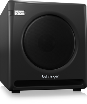 "BEHRINGER NEKKST K10S Audiophile 10"" Studio Subwoofer with High Excursion Woofer - The Guitar World"