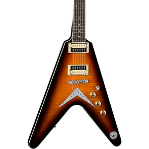 DEAN V 79 Flame Top Trans Brazilia - The Guitar World