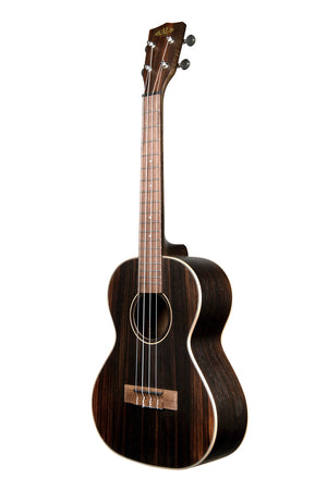 KALA Striped Ebony Tenor Ukulele KA-EBY-T
