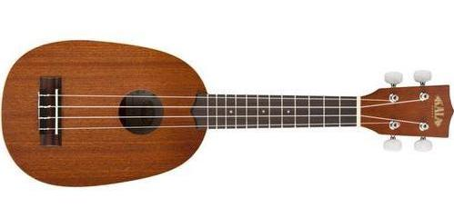 KALA Satin Mahogany Soprano Pineapple Ukulele KA-P - The Guitar World
