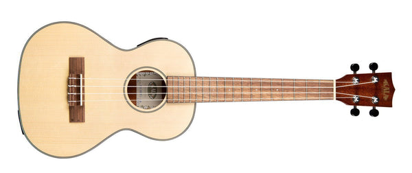 KALA Solid Spruce Travel Tenor with EQ Ukulele KA-SSTU-TE - The Guitar World