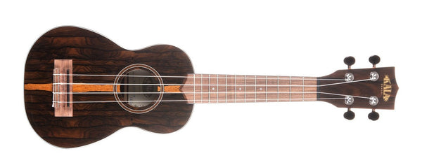 KALA Ziricote Soprano Ukulele KA-ZCT-S - The Guitar World