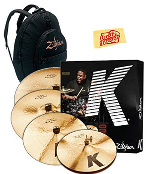 Zildjian KCD900 K Dark Cymbal Set KCD900 - The Guitar World