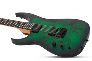 Schecter Keith Merrow KM-6 MK-III Standard Left-Handed Electric Guitar Toxic Smoke Green 837-SHC