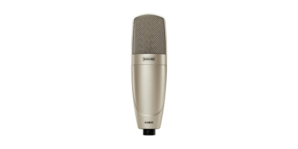 Shure KSM32 Embossed Single-Diaphragm Microphone Champagne