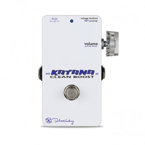 Keeley Katana Clean Boost Pedal - The Guitar World