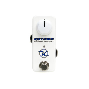 Keeley Katana-mini Clean Boost Pedal - The Guitar World