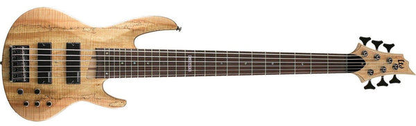 ESP LTD 6-String Electric Bass Natural Satin LB206SMNS - The Guitar World