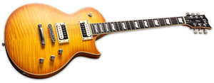 ESP LTD Ec-1000t Fm Electric Guitar Honey Burst Satin LEC1000TFMHBSF - The Guitar World