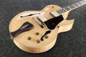 Ibanez George Benson Signature Hollowbody Guitar in Natural - The Guitar World