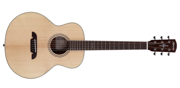 ALVAREZ ARTIST LJ2 LITTLE JUMBO TRAVEL GUITAR IN NATURAL SATIN FINISH - The Guitar World