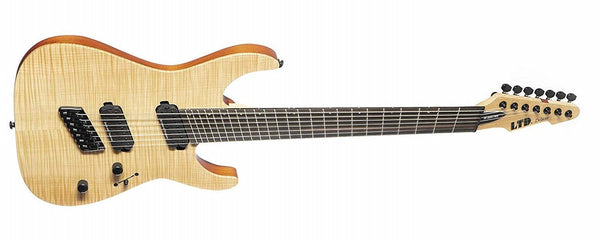 ESP Multi-scale Fm Ns 7-string Natural Satin LM1007MSNS - The Guitar World