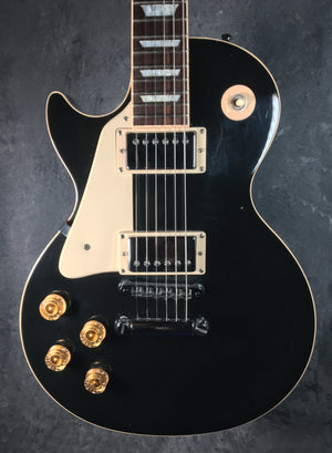 GIBSON LES PAUL STANDARD - LEFT HANDED - USA -  2002 - BLACK - TGWX - The Guitar World