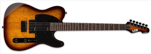 ESP LTD Solid-Body Electric Guitar Tobacco Sunburst LTE200RTSB - The Guitar World