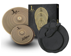 Zildjian Low Volume L80 13/18 Box Set With Gig Bag LV38 - The Guitar World