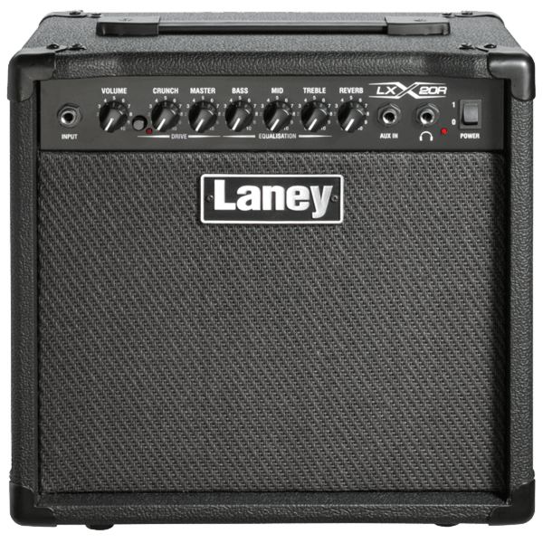 Laney LX20R 20 Watt 1x8 Guitar Combo Amp Black