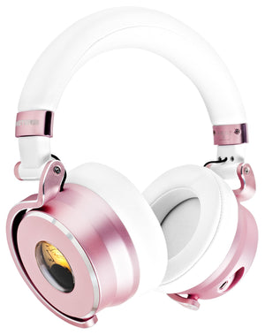 Meters Headphones Wired Over Ear Headphones ANC Rose Gold M-OV-1-ROSE - The Guitar World