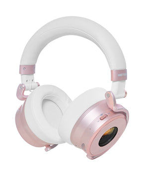Meters Headphones Wireless Bluetooth Over Ear Headphones - Rose Gold M-OV1-B-ROSE - The Guitar World