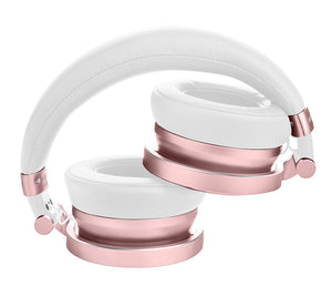 Meters Headphones Wireless Bluetooth Over Ear Headphones - Rose Gold M-OV1-B-ROSE
