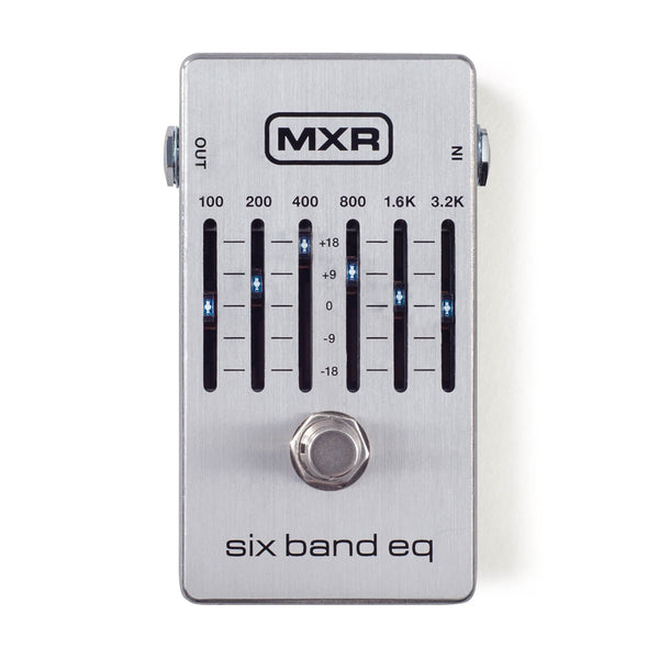 Dunlop MXR Six Band EQ M109S - The Guitar World