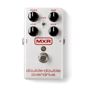 Dunlop MXR Double-Double Overdrive M250 - The Guitar World