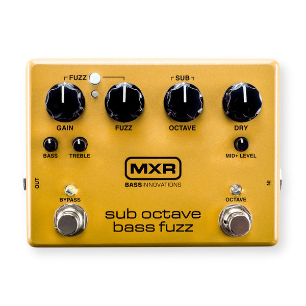 Dunlop MXR Sub Octave Bass Fuzz Pedal M287 - The Guitar World