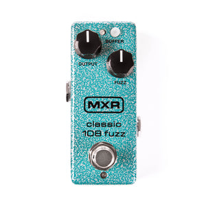 Dunlop Mini Guitar 108 Fuzz Effects Pedal M296 - The Guitar World