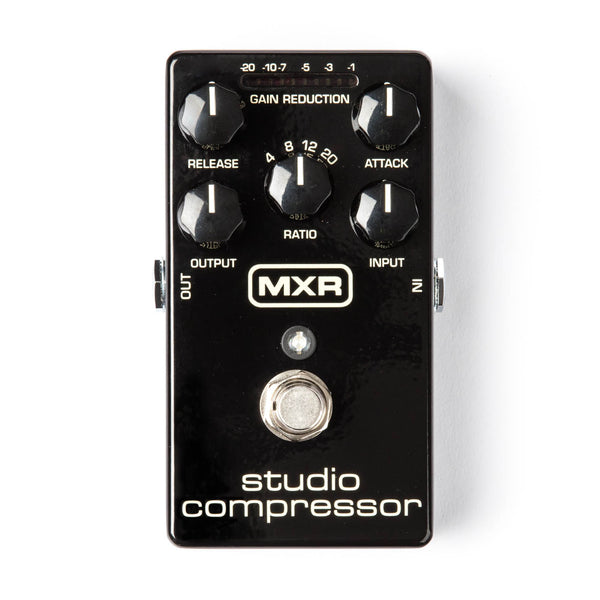 Dunlop MXR Studio Compressor M76 - The Guitar World