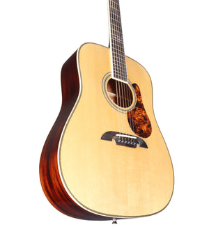 ALVAREZ MASTERWORKS MD60BG MASTERWORKS MD60 SERIES BLUEGRASS DREADNOUGHT IN NATURAL GLOSS FINISH - The Guitar World