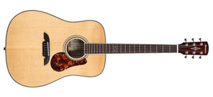 ALVAREZ MASTERWORKS MD60EBG BLUEGRASS DREADNOUGHT ELECTRIC ACOUSTIC IN NATURAL GLOSS FINISH